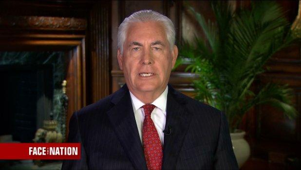 Тиллерсон о Сирии Первым приоритетом является поражение ИГИЛ -CBSNews